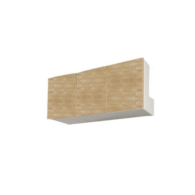 すえ木工 Miel-3 HB140-L 壁面収納 W1400 D320 H600-890