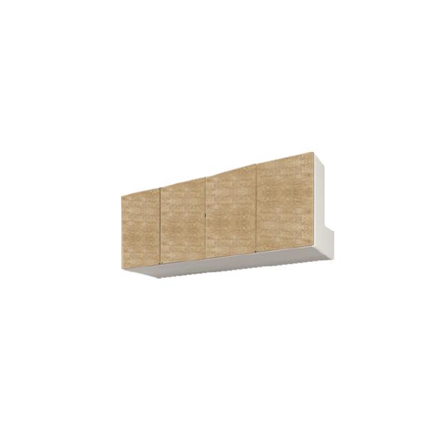 【送料無料】 すえ木工 Miel-3 HB160-M 壁面収納 W1600 D320 H360-590