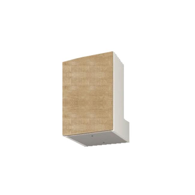 【送料無料】 すえ木工 Miel-3 HB40-M (L/R) 壁面収納 W400 D320 H360-590