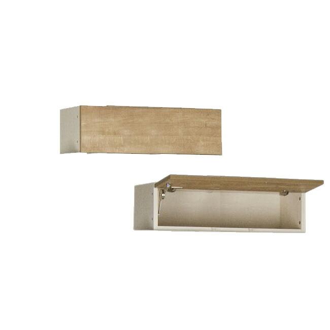 すえ木工 Miel-3 FB100 壁面収納 W1000 D320 H200-280