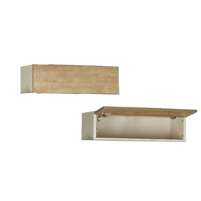 すえ木工 Miel-3 FB80 壁面収納 W800 D320 H200-280