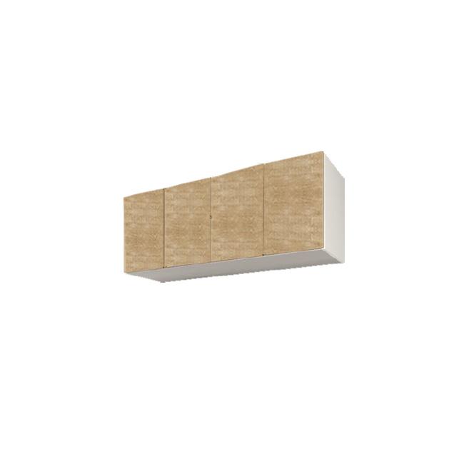【送料無料】 すえ木工 Miel-3 UW160-M 壁面収納 W1600 D320 H360-590