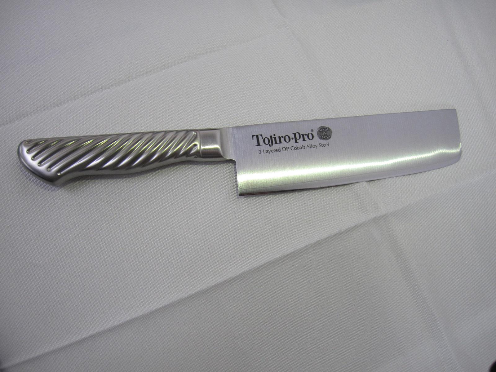 【オープン記念】【数量限定】TOJIRO PRO DPコバルト合金鋼割込 薄刃 165mm (F-894)
