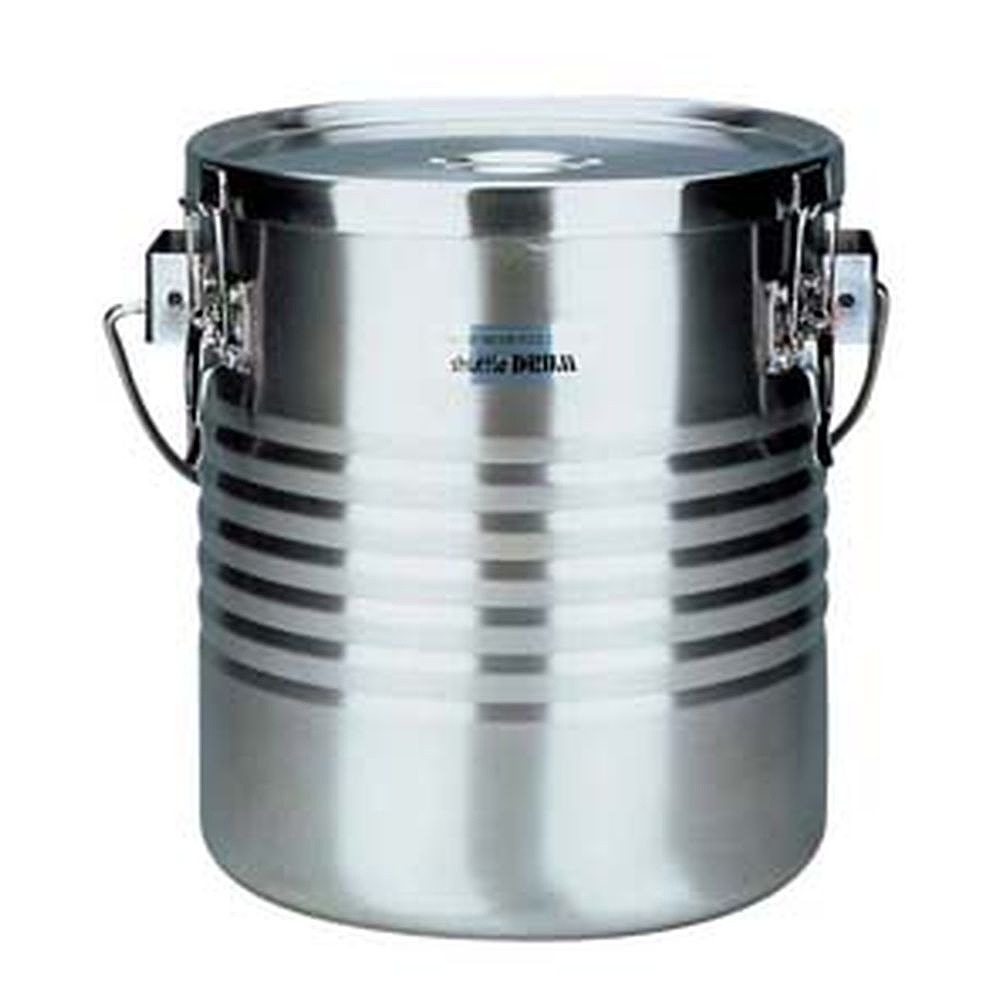 18-8高性能保温食缶 シャトルドラム 通販 JIK-W16 手付 大注目