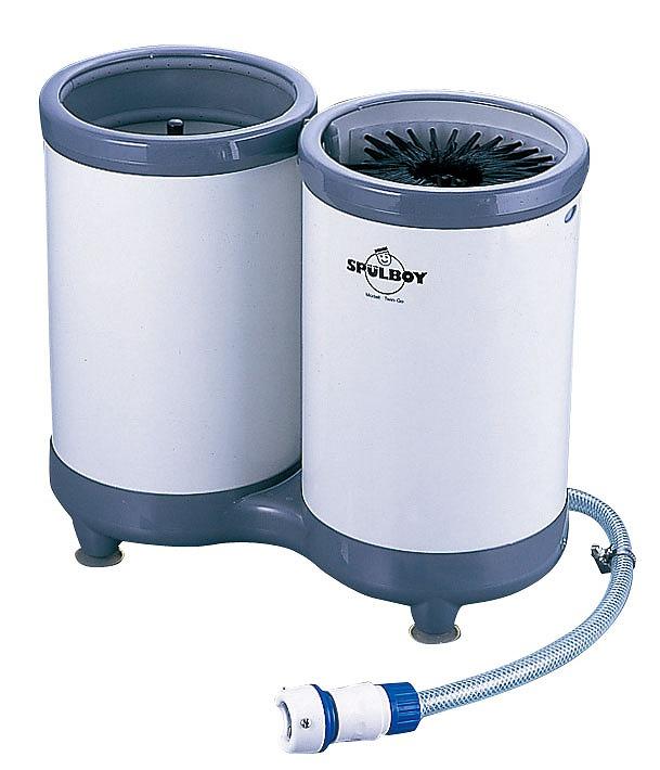 水圧式グラスウォッシャーTwin-Go-Tポータブル