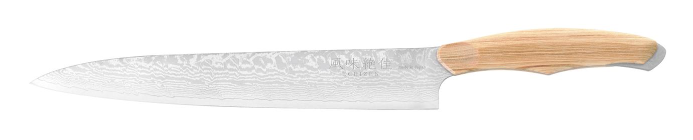 人気アイテム 風味絶佳ECHIZEN 薄引 210mm ナチュラル 刃渡り:210, 宗像郡 5caf6d5c