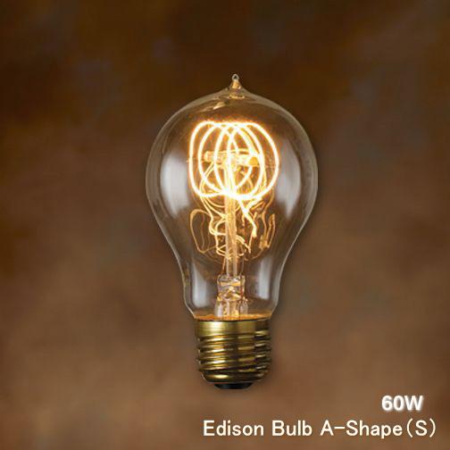 Edison Light Bulb E26 60w A Shape S 60 W