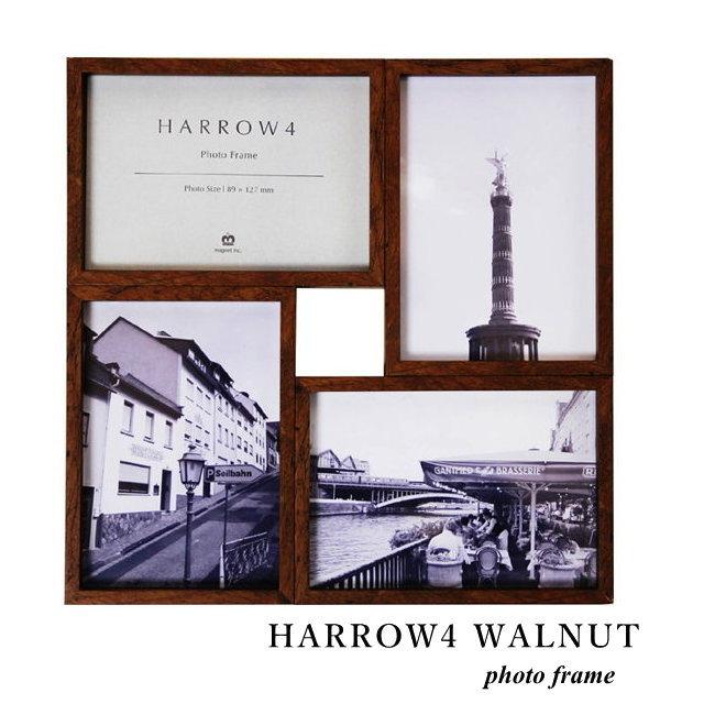 N L Photo Frame Wall Hanging Harrow 4 Harrow4 Walnut Picture