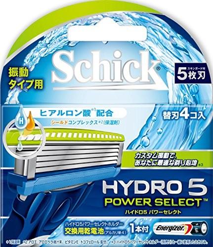シック ハイドロ5 パワーセレクト 替刃 (4コ入) シック・ジャパン