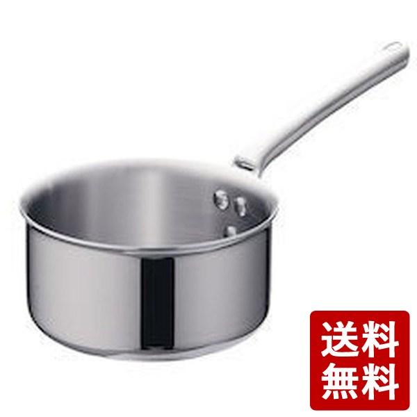 【送料無料】18-10プライオリティ 片手深型鍋(蓋無) 3690-18デバイヤー