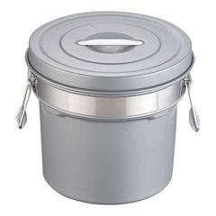 【全品P5倍~10倍】段付二重食缶(内外超硬質ハードコート) 249-H(14L)