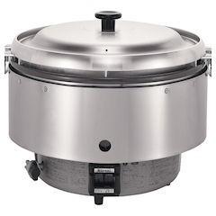 【全品P5倍~10倍】リンナイ業務用ガス炊飯器 涼厨 RR-50S2LPガス DSIL501