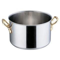 【全品P5倍~10倍】SAスーパーデンジ 半寸胴鍋 蓋無 48cm AHV54048