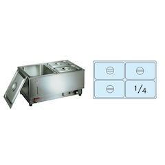 【全品P5倍~10倍】電気フードウォーマー1/1ヨコ型 KU-104Y EHC14