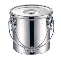 【全品P5倍~10倍】KO 19-0 電磁調理器対応 スタッキング給食缶21cm