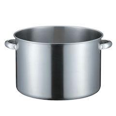 【全品P5倍~10倍】KO 19-0電磁対応半寸胴鍋 蓋無 36cm AHVD804
