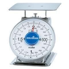 【全品P5倍~10倍】サビナイステンレス上皿秤 SA-2S2kg BHK8803