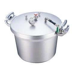 【全品P5倍~10倍】SAアルミ業務用圧力鍋 第2安全装置付 50L AAT15050