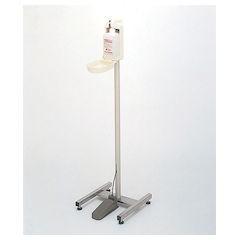 【全品P5倍~10倍】足踏式手指消毒器 HC-400スタンド型 キャスターなし XSY431