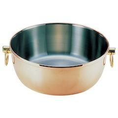 【全品P5倍~10倍】ロイヤル クラデックス しゃぶしゃぶ鍋 銅メッキCQCW-300C
