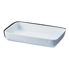 【全品P5倍~10倍】ロイヤル 角型グラタン皿 ホワイト PB500-44 RLI286