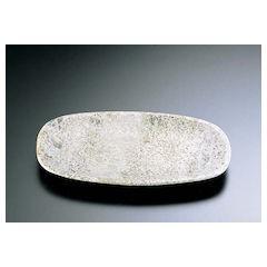 【全品P5倍~10倍】石器 角小判皿 YSSJ-015 30cm RIS1603