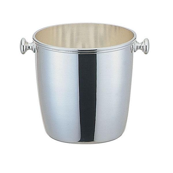 【全品P5倍~10倍】洋白3.8μ ウェスタン型アイスペール 受皿付 早川器物 品番:TAI02001