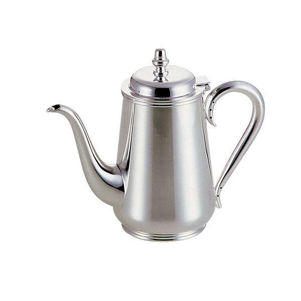 【全品P5倍~10倍】洋白3.8μ 東型コーヒーポット 2人用 早川器物 品番:TKC10002