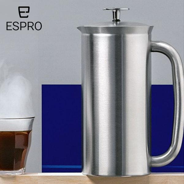 【P10倍】ESPRO コーヒープレス P7 ミラー エスプロ プレス おうち時間 アウトドア クラフトコーヒー キャンプ アメリカ USA