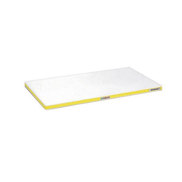 【全品P5倍~10倍】抗菌ポリエチレン まな板 かるがる 標準 SDK 500×300×20mm イエロー ハセガワ CD:135342