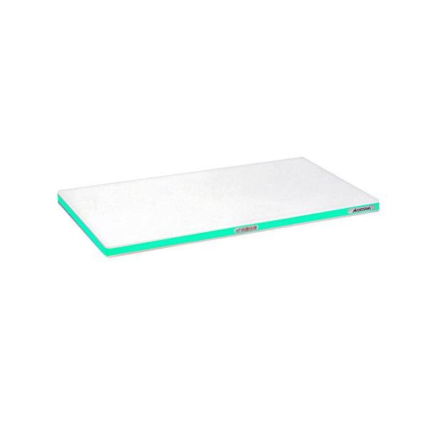 【全品P5倍~10倍】抗菌ポリエチレン まな板 かるがる 肉厚 HDK 600×300×30mm グリーン ハセガワ CD:135429