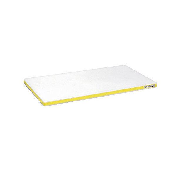 【全品P5倍~10倍】ポリエチレン まな板 かるがる 標準タイプ SD 600×300×25mm イエロー ハセガワ CD:135218