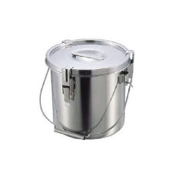 【全品P5倍~10倍】クローバー モリブデンパッキン付汁食缶 21cm(7.0L) 大屋金属 CD:029033