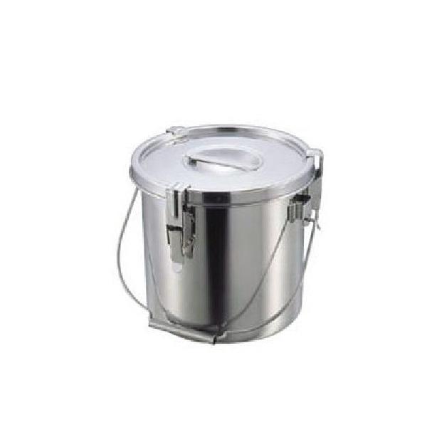 【全品P5倍~10倍】クローバー モリブデンパッキン付汁食缶 27cm(15.0L) 大屋金属 CD:029035