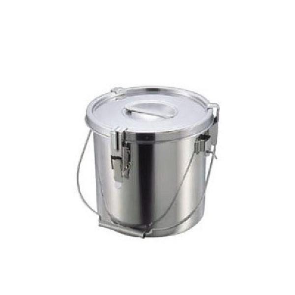 【全品P5倍~10倍】クローバー モリブデンパッキン付汁食缶 30cm(20.0L) 大屋金属 CD:029036