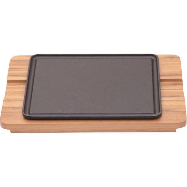 【全品P5倍~10倍】シェラスコ 角ステーキ鉄板セット 10239/162 ノボダ CD:301141