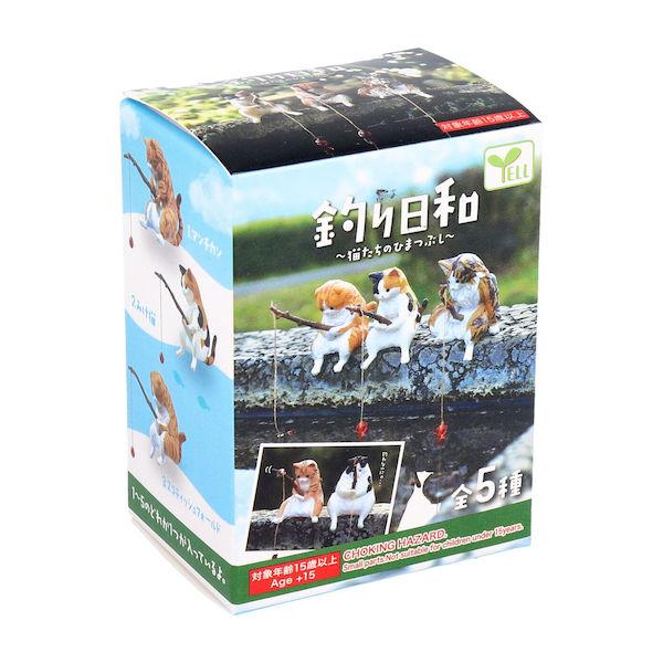 店内最大ポイント10倍 全品P5~10倍 SALENEW大人気 フィギュア 釣り日和 猫たちのひまつぶし 上等 1個入 BOX
