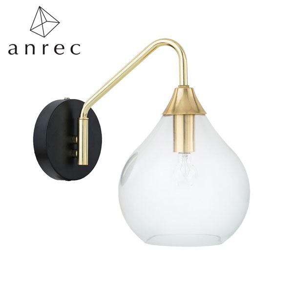 【P5倍】anrec 1灯ウォールライト ラルム ARC-B043 (クリア) アンレック 照明 ライト シンプル アンティーク クラシック