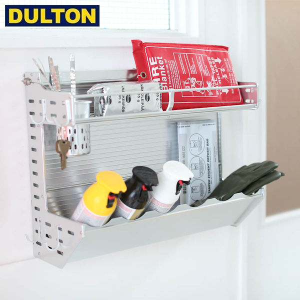 【P10倍】DULTON Aluminum wall rack アルミ製 収納ラック 【品番:H19-0020】 ダルトン インダストリアル アメリカン ヴィンテージ 男前
