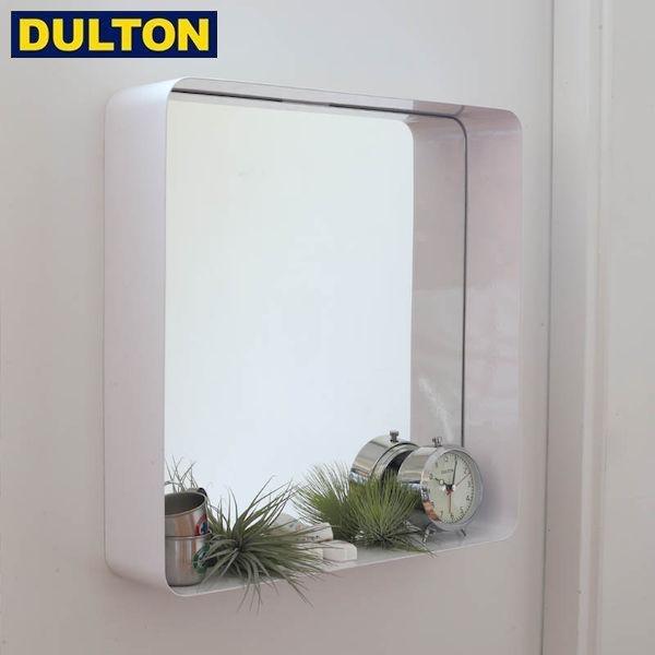 【P5倍】DULTON MIRROR WITH STEEL FRAME WHITE 【品番:D19-0059WT】 ダルトン インダストリアル アメリカン ヴィンテージ 男前 ミラー ウィズ スチール フレーム