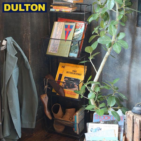 【P10倍】DULTON WIRE MAGAZINE RACK [PX] 【品番:S255-58】 ダルトン インダストリアル アメリカン ヴィンテージ 男前