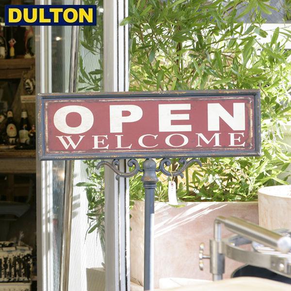 【P5倍】DULTON OPEN-CLOSED SIGN STAND [PX] 【品番:S355-83】 ダルトン インダストリアル アメリカン ヴィンテージ 男前