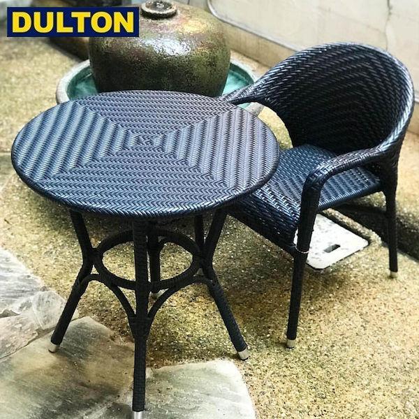 【P10倍】DULTON WEAVING TABLE BLACK [PX] 【品番:OS101854BK】 ダルトン インダストリアル アメリカン ヴィンテージ 男前 ウィービング テーブル ブラック