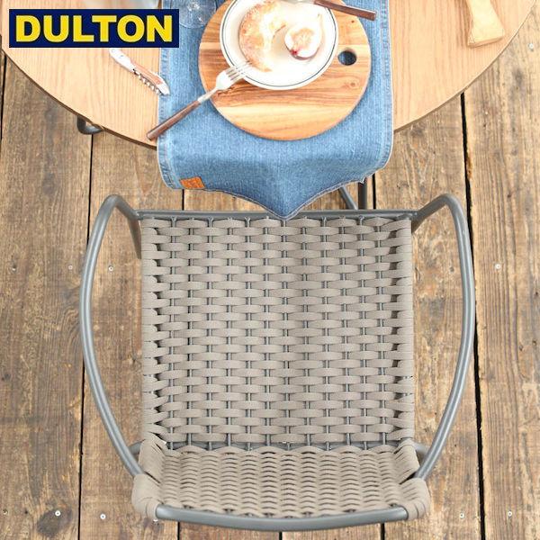 【P10倍】DULTON ROPE CHAIR TAUPE [PX] (品番:G845-1074TP) ダルトン インダストリアル アメリカン ヴィンテージ 男前 ロープ チェアー トウプ