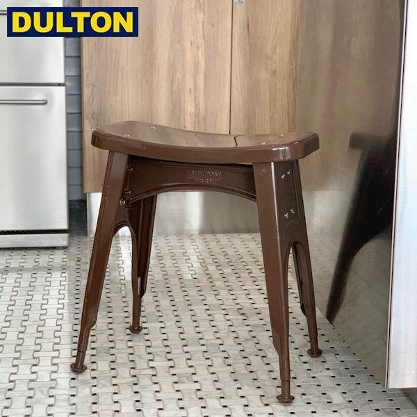 【P5倍】DULTON KITCHEN STOOL BROWN (品番:112-281BR) ダルトン インダストリアル アメリカン ヴィンテージ 男前 キッチン スツール ブラウン
