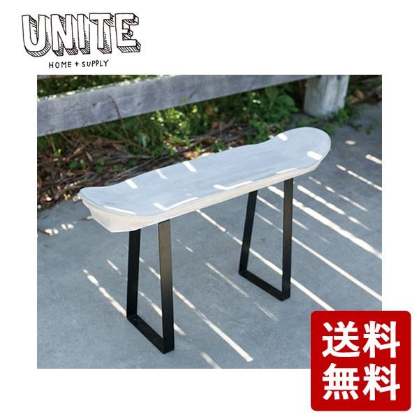 【送料無料】UNITE TABLE DECK テーブル ベンチ スケートデッキ風 EXF-UNITE-TBD-UH