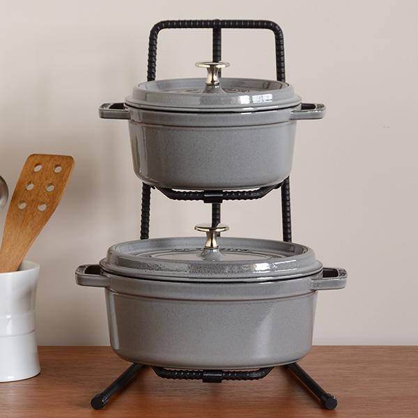 【なべ・フライパン収納】おしゃれで便利なキッチンの収納アイテムのおすすめは?