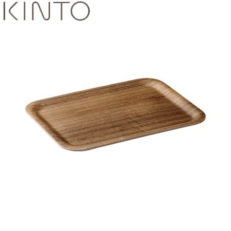 NEW売り切れる前に☆ 限定特価 食器 テーブル用品 P10倍 KINTO ノンスリップ レクタン SS トレイ チーク キントー 45151