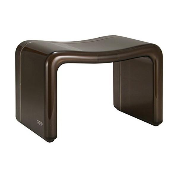 店内最大ポイント10倍! 【P10倍】クラウド バスチェア 角型 ブラウン 風呂椅子 シンカテック