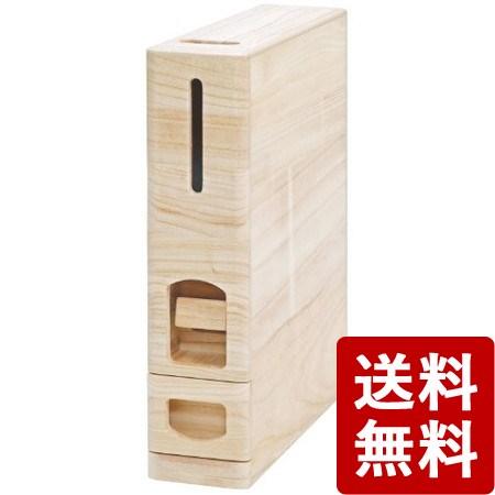 【送料無料】無洗米兼用 米びつ 桐製 6kg収納型 RW210 /M
